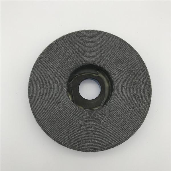 Snail Lock Edge Polishing Pad 5 inch (125 mm) Black Buff for Granite Abrasive Tools Diamond Polishing Wheel