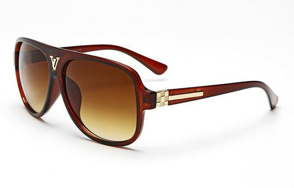 Nueva medusa gafas de sol montura sin montura gafas de sol piloto hombres diseñador de marca revestimiento espejo lente VE2178 estilo steampunk estilo verano
