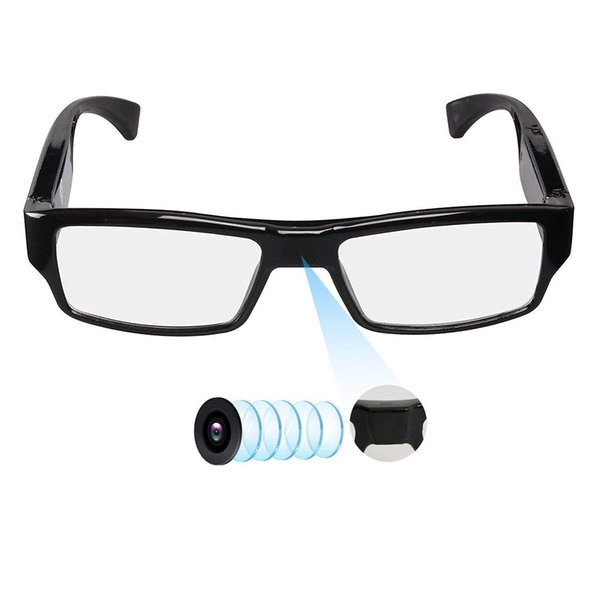 Mini Camera SM20A Glasses with Video 1080P Video Cam Glasses Portable Video Recorder Without lens hole Drop Shipping