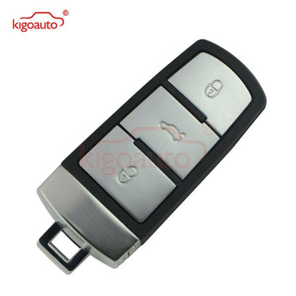 best selling 3C0 959 752 BA Smart key 3button 434Mhz with ID48 chip for VW B6 3C B7 Magotan CC keyless remote 752BA kigoauto car