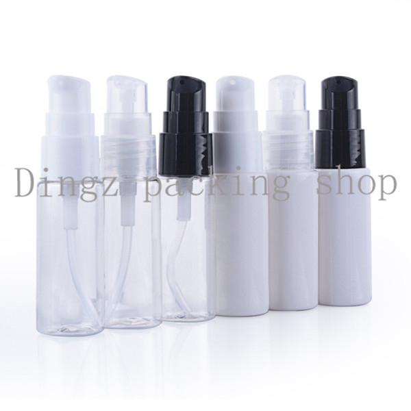 50 шт./лот 20 мл белый/clear модели клюв бутылка (порошок насос),лосьон бутылка,многоразового бутылки,косметическая упаковка
