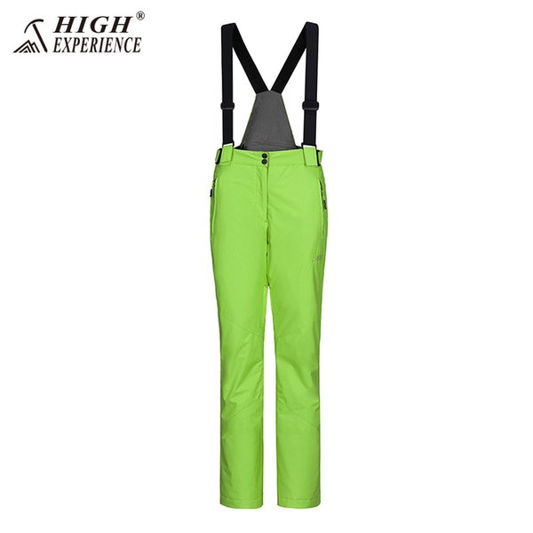 pantalon vert citron