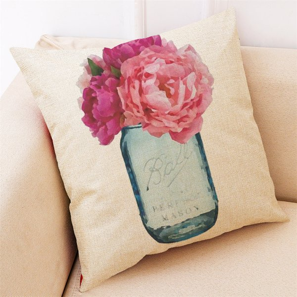 Remarkable Hello Spring Printed Rose Pillow Case Home Decor Cushion Cover Throw Pillowcase Pillow Covers Outside Furniture Cushions Outdoor Replacement Chair Caraccident5 Cool Chair Designs And Ideas Caraccident5Info