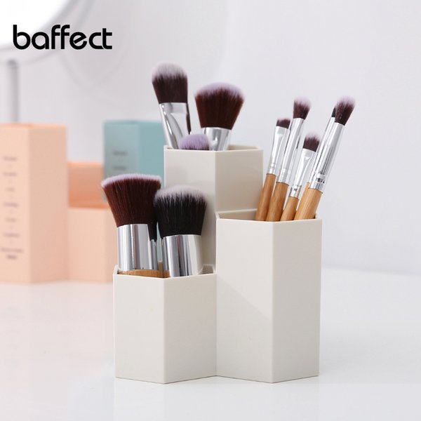 Hot Office Organizer Box Makeup Cosmetic Holder Make Up Tools Pen Stationery Storage Boxes Brush Case Jewelry Display Rack