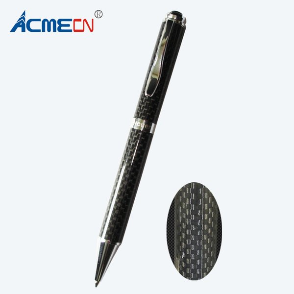 ACMECN Hot Sale original Design Metal Heavy Pen with Full Carbon Fiber High Quality Office Luxurious Unisex Writing Ball Pens