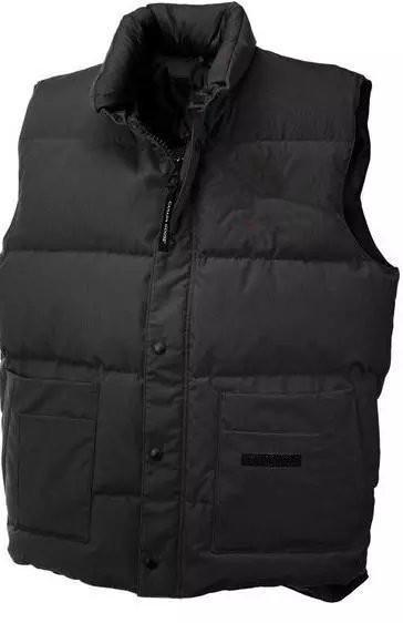 Nouveau hommes canada gilet nouveaux hommes DOWN hiver veste en duvet Polartec veste mâle sports coupe-vent imperméable respirant extérieur gilet c07