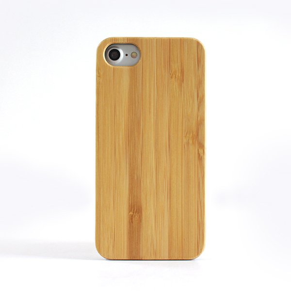 Manufacturers direct selling for iphone7 wooden phone case PC stick wood chip mobile phone case for apple 7 8 wooden protective case
