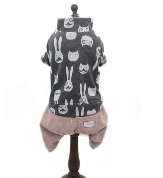Pet clothing, autumn and winter Joker, teddy bear, dog beauty, dog clothes, dog clothes