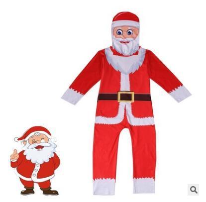 7c15e2f729981 Vêtements pour enfants Cosplay Costume Party Outfit Costume De Noël pour  Garçons Filles Birthdat Cadeau Garçon Fantaisie Combinaisons Masque 4  Styles ...