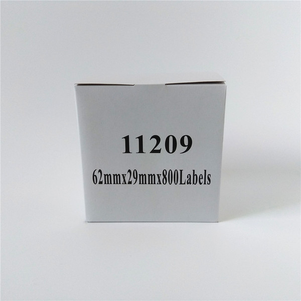 60 x roll brother dk 11209 dk 11209 dk11209 dk 1209 dk 1209 dk1209 compatible label ize 29mm x 62mm with holder
