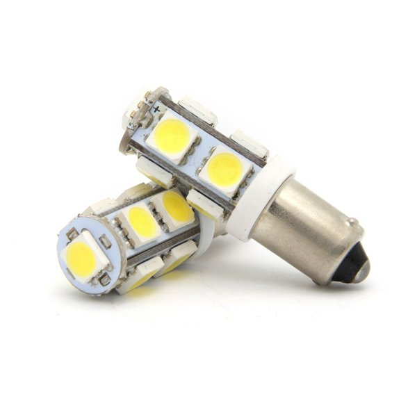 BA9S 9SMD 12V W5W T4W Reserve Bulbs clearance Lamp Wedge side Interior Indicator License Plate Light