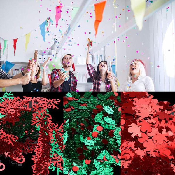 Bricolage Tin Feuille Paillettes Pour Arbre De Noël Forme En Gros Paillettes Artisanat De Noël décoration Bon Design Ornements # 9