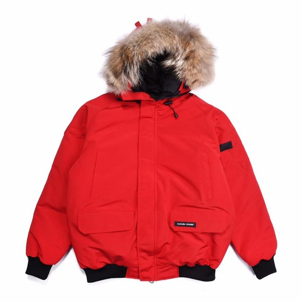 Brand Design Hooded Men Down Coat Luxury Thicken Down Jacket Canada Camouflage Winter men's Parkas 7 Colors Coat