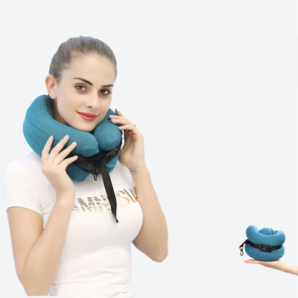 U Shaped Slow Rebound Memory Foam Pillow Travel Neck Pillows Health Care Headrest for Body Office Flight Car Traveling