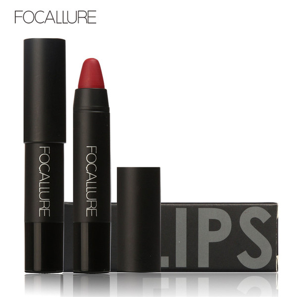 Focallure Makeup Matte Lipstick 19 Colors Vevet Long Lasting Waterproof All Day Nude Women Matte Lipstick 2017 Hot Selling