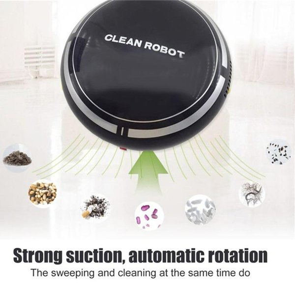 Smart sweeper Automatic USB rechargeable intelligent robot new home mini cartoon charging sweeping machine intelligent vacuum cleaner