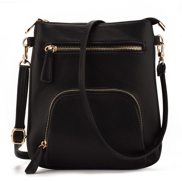 IARUO Brand Design Small Vertical Front Pocket Slim Women Leather Crossbody bag Purses Mini Shoulder Messenger bag Handbag JIARUO Brand D...