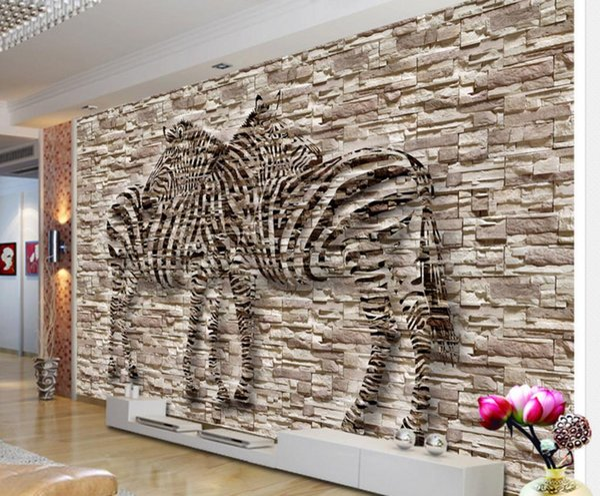 Retro Wallpaper Artistic Mood Relief Zebra Background Wall Wallpaper For  Bedroom Walls Hd Wallpapers Hd Wallpapers Hd Wallpapers Hd Wallpapers High  ...