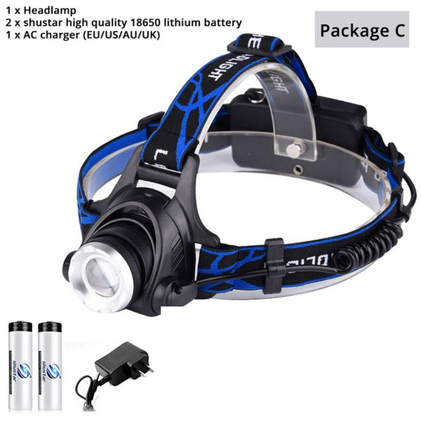 Headlamp+Battery+Plug