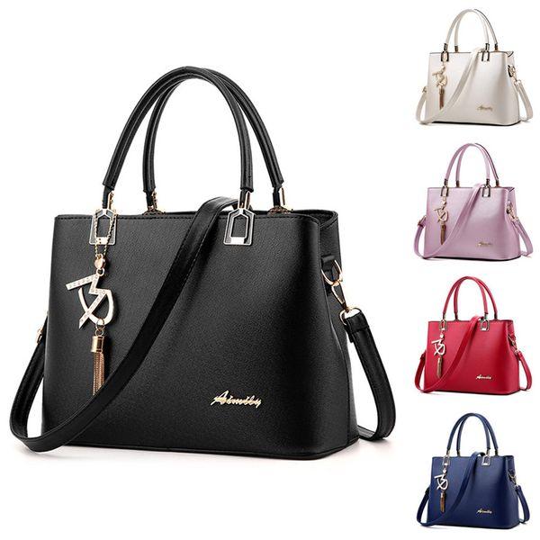 Nuovo arrivo donne Borsa Moda Donna Borsa a tracolla in pelle Borsa a tracolla Messenger Hangbag carteras y bolsos de mujer