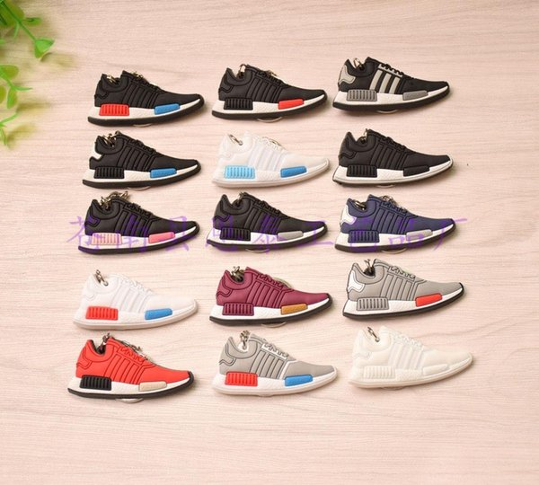 High quality NMD shoes key button Keychain can be customized new color