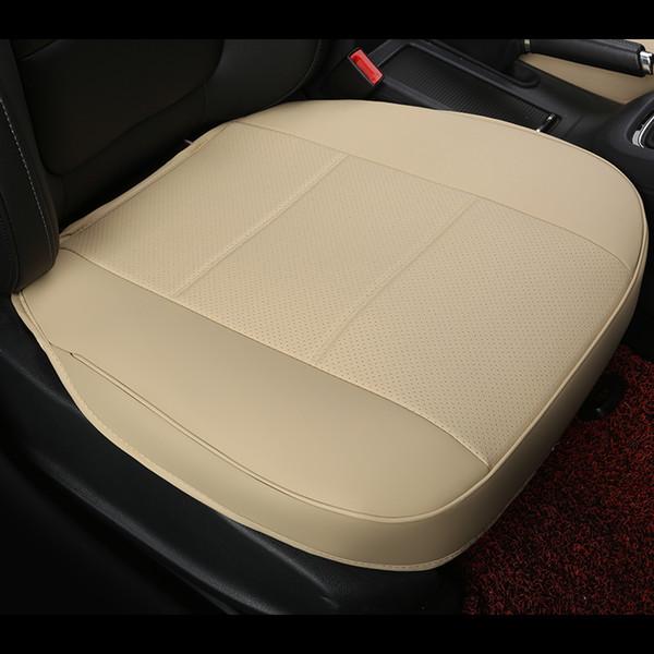 cuero de la PU no se mueve fundas de los asientos del coche, cojín del asiento de coche de la cubierta completa del lado de 4 estaciones, amortiguadores monolíticos de la mezcla del no deslizamiento