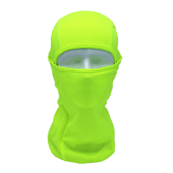 Cycling Bicycle Bike Night Protect Mask for The Face Outdoor Full Face Mask Headwear Protector Lycra Balaclava Masks For Solid