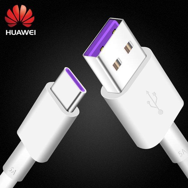 Huawei P10 P9 Plus Lite SuperCharge Cable 5A USB Type C 100% оригинальный SCP быстрый кабель для быстрой зарядки Type-C Honor V10 10