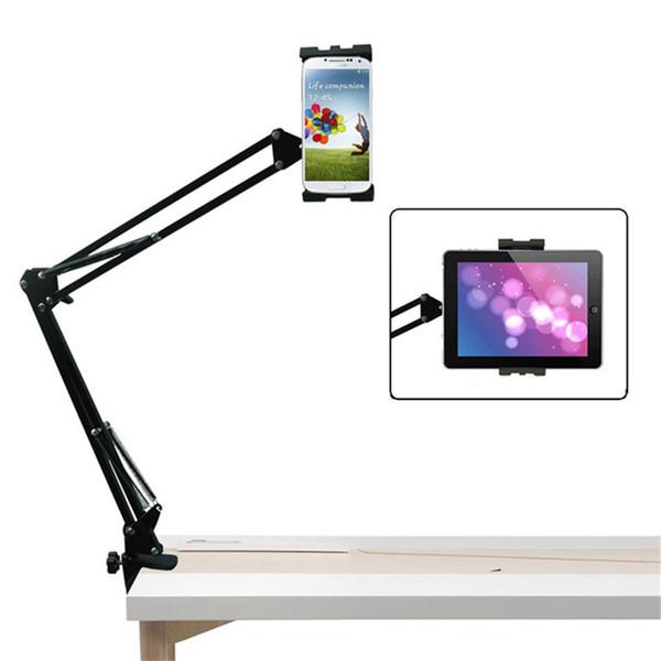 Suporte de suporte tablet universal flexível para ipad 234 mini tablet suporte de mesa cama montar para 4-10.5 polegadas iphone telefone