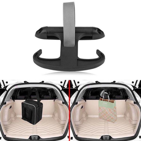 Car Auto Carga Trunk Bag Gancho Cabide Organizador Titular Plástico Para VW Jetta Volkswagen Preto Moda EEA215