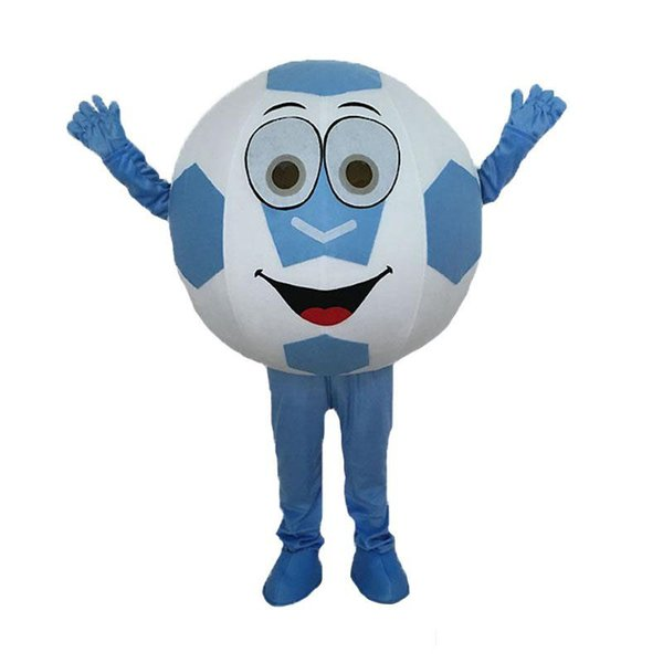 2018 High quality hot sale adult football mascot costume with free shipping for Halloween party
