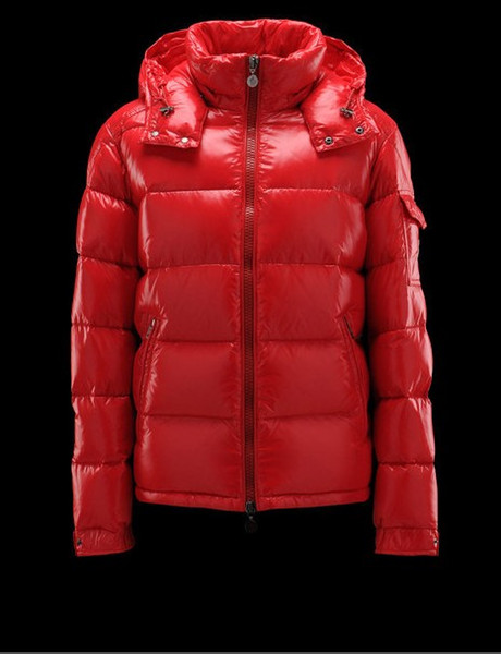 Fashion Brand Winter Men Outdoor Maya Shiny Matte Down Jacket Mens Casual Hooded Down Coats Outerwear Man warm jackets Parkas S-3XL