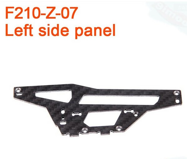 17430 Walkera F210 RC Helicopter Quadcopter spare parts F210-Z-07 Left Side Panel Cheap plate