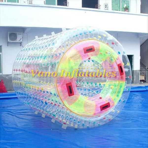 Water Walker 100% TPU Strong Inflatable Roller Water Roll Ball Zorbing Pool Games 2.4m 2.6m 3m with Pump Free Shipping