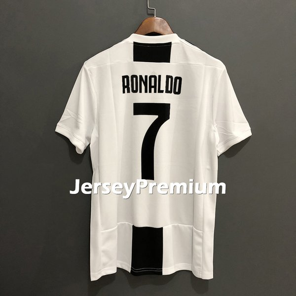 quality design 4fa5b bf896 2019 Cristiano Ronaldo Cuadrado Marchisio Chiellini Pjanic Higuain Dybala  Home Away 3rd Football Soccer Jerseys Black White Shirts From  Jerseypremium, ...