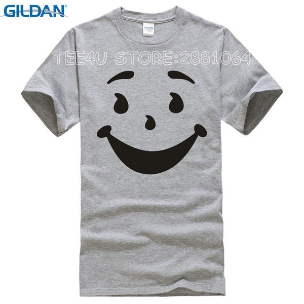 33fe4f4d 2018 Promotion Rushed No Tee4u Cool T Shirts Designs Best Selling  Broadcloth Kool Man Aid Face O Neck Short Sleeve Mens Shirt Interesting T  Shirts T ...