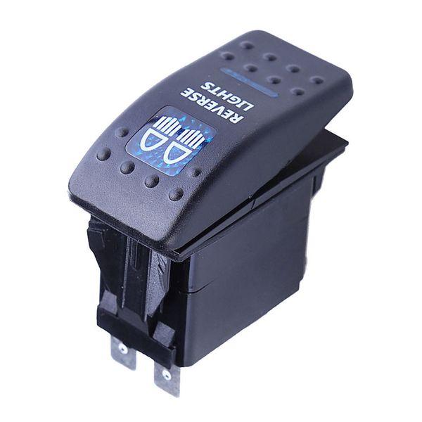 AimdonR Heavy Duty Rocker Interrupteur /à bascule 15A 250 V 20A 125 V SPST 2 broches ON//OFF Interrupteur en m/étal Bat /étanche