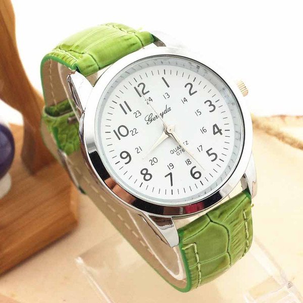 Analog Luxury fashion faux leather watches outdoor sports watch Quartz Watch Wrist Watches for Men 12.31