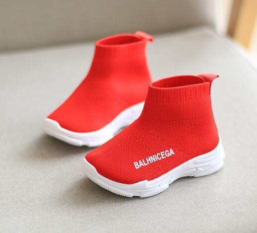 Großhandel Schule Atmungsaktive Jungen Sneaker Mesh Für Mädchen Baby Schuh Leichte Schuhe Socken Kinder Von Turnschuhe kXOZiTuP