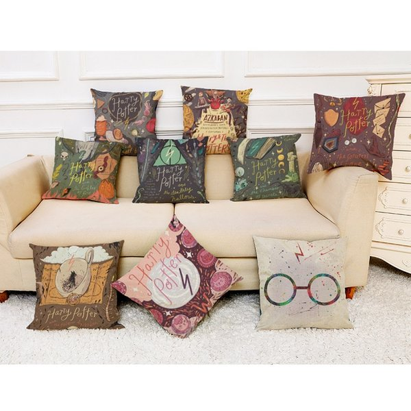 New Magic Series Pillow Covers 12 Styles Company Promotional Advertising Gift Can Be Printed Logo Free Customized Any Pattern