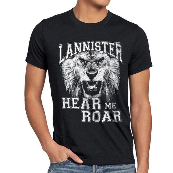 Lannister T-Shirt Herren hear me roar wappen game thrones lion tyrion of löwe