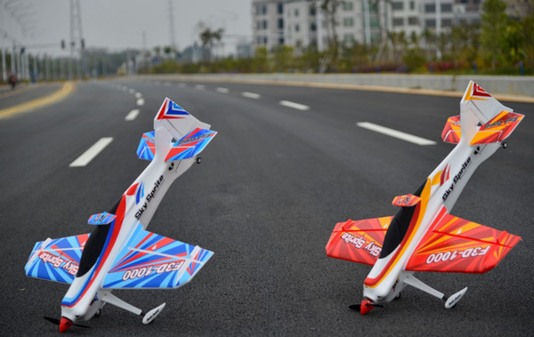 EPO plane sport RC airplane RC MODEL HOBBY TOY / WINGSPAN 1000 MM F3D-1000 RC 3D PLANE (have kit set or PNP set )