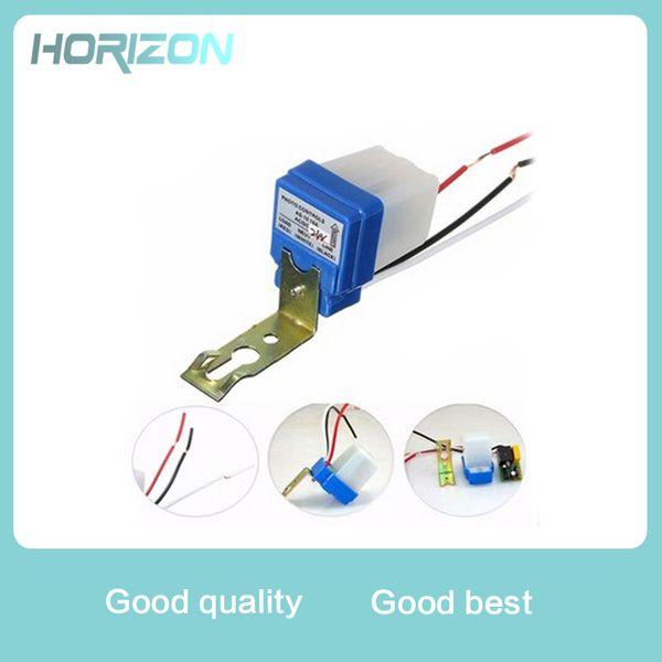 Automatic Auto On Off Photocell street Light Switch DC AC 220V 50-60Hz 10A Photo Control Photoswitch Sensor Switch