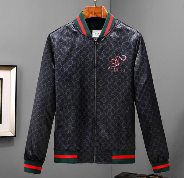 Luxury Designer Casual Outdoor Tiger Jungle Jacket Autumn Summer Men Women Luxury Zipper Sports Skin Coat Size M-3XL