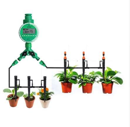 8/11 To 4/7mm Hose Drip Irrigation System 40pcs Adjustable Nozzle Ground Sprinkler Automatic Irrigation System Watering Kits