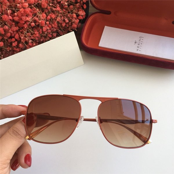 Compre Gafas De Sol Cuadradas 0335s Para Mujer Marco Transparente ...