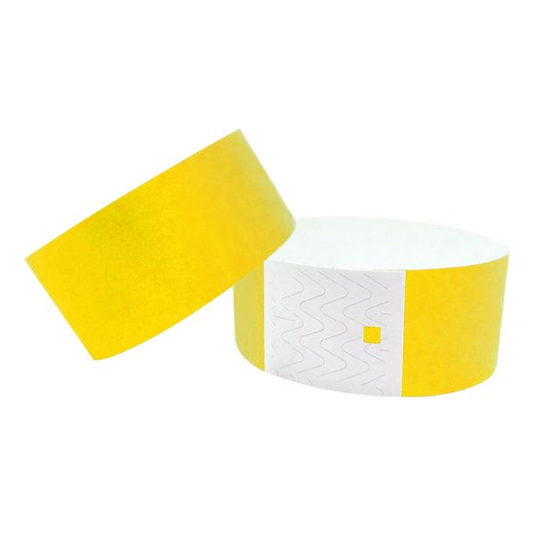 Adult 1 Inch Plain Color One Off Colorful Tyvek Wristbands Paper Bracelet  Paper Band For Event Wedding Favor Box Wedding Favor Boxes From  Mudanflower,