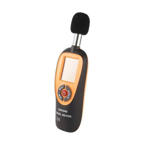 new HT-90A Mini Portable Sound Level Meter With LCD Screen Display 30~130dB Instrumentation Noise Decibel Monitoring Testers