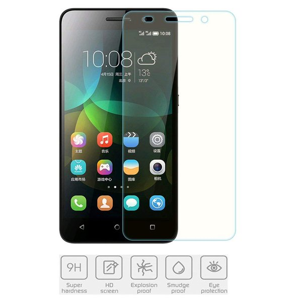 For Huawei Honor 4C 4A/Y6 HD Ultra-clear Tempered Glass 2.5D 9H Screen Protector for Huawei Honor 5X 6 6X 6C