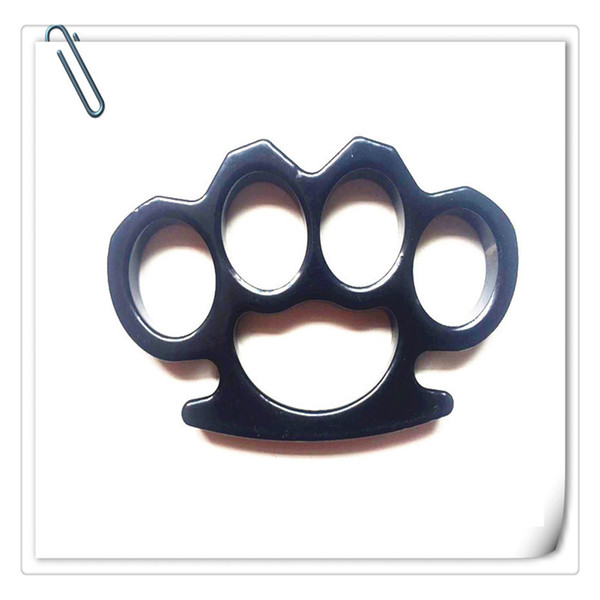 Free DHL Brass Knuckles Thin Steel Brass Knuckle Dusters Self Defense Personal Security Women's and Men's self-defense Pendant Outdoor Gear